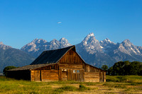 T.A. Moulton Barn, Tetons, Wyoming