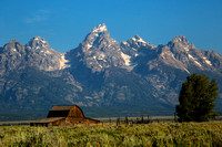 John Moulton Barn, Tetons, Wyoming